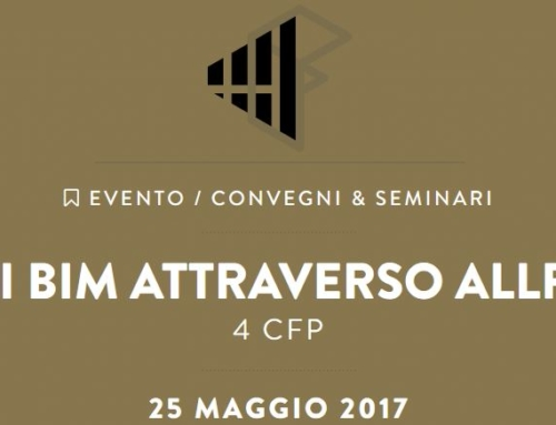 Processi Bim attraverso Allplan 2017-Seminario gratuito a Firenze con 4 CF
